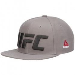 Casquette Reebok UFC Flat Peak - gris foncé - M