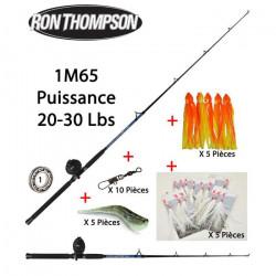 Pack pêche Mer Traine Bateau Ron Thompson + Accessoires