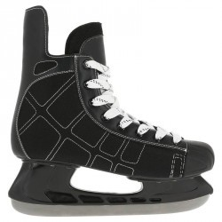 Patin de hockey sur glace junior ZERO noir