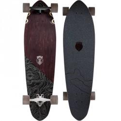 Longboard CLASSIC TOPO marron