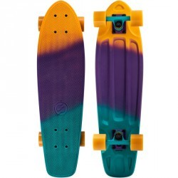 Cruiser Skateboard BIG YAMBA gradiant Violet