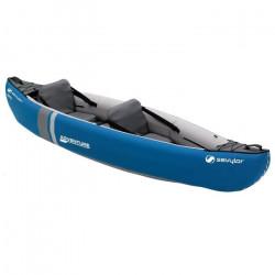 SEVYLOR Canoë polyvalent Adventure - 2 personnes bleu avec sac