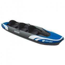 SEVYLOR Kayak polyvalent Hudson 14708 - 2 adultes 1 enfant bleu avec sac