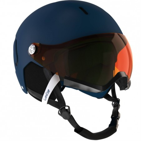Casque de ski et snowboard adulte FEEL 150 S2 bleu.