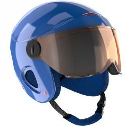 Casque de ski et de snowboard enfant H 450 JR bleu.