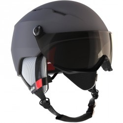 Casque de ski et snowboard adulte H 350 gris.