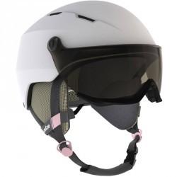 Casque de ski et snowboard adulte H350 blanc.