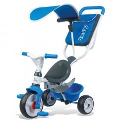SMOBY Tricycle Baby Balade 2 Evolutif  Bleu