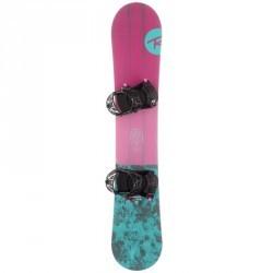 Pack snowboard all mountain Femme Gala rose et bleue