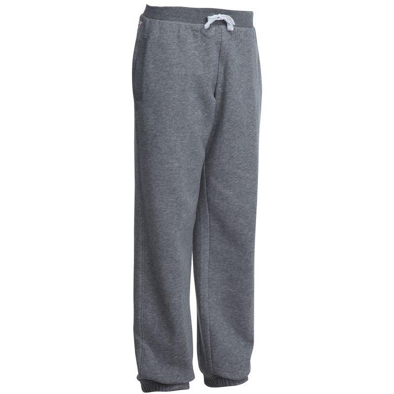 Pantalon chaud regular imprimé Gym garçon gris