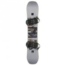 Pack Snowboard freestyle, mixte homme et femme, End Zone 500 Jib, gris