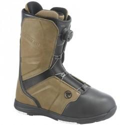 Chaussures de snowboard all mountain, homme, Aero Boa Coiler, maron