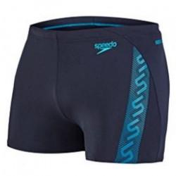 Boxer Maillot de bain Homme Speedo Monogram Bleu Taille 40