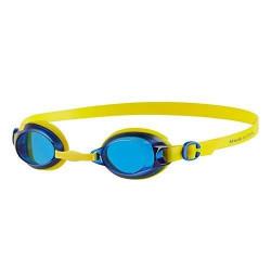 Lunettes de natation anti-buée UV Speedo Jet Junior pour enfants (6-14 ans) - Bleu / Jaune
