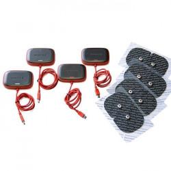 Pack 4 modules multisport pro nouveau et 4 électrodes Sport-Elec Electrostimulation