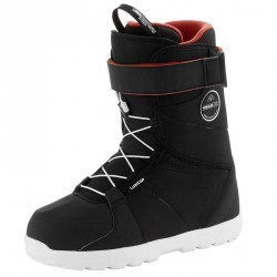 Chaussures de snowboard, all mountain, homme, Foraker 300 - Fast Lock 2Z, noire