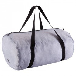 Sac tube pliable Medium fitness gris chiné