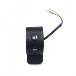 Pièces détachées Trottinette électrique Surpass 8 PRO (E8.3) Commodo klaxon, feux & frein électronique avec cable.