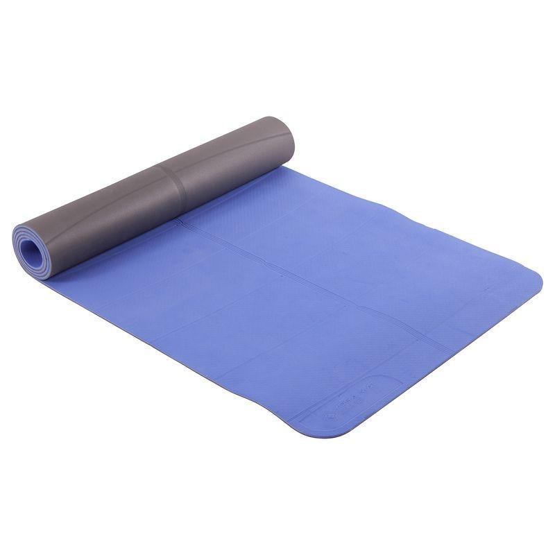 Tapis de yoga CLUB 5 mm bleu