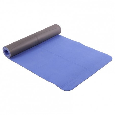 Tapis de yoga CLUB 5 mm bleu