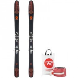 PACK SKIS FREERIDE RANDONNÉE ADULTE SKY 7 HD + PEAUX + FIXATION LOOK HM 10 DEMO