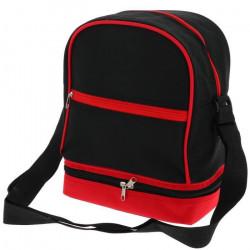 Sacoche boules pétanque Sac petanque noir rouge - Tremblay UNI Noir