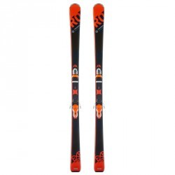 SKIS DE PISTE ALLMOUNTAIN HOMME EXPERIENCE 80  ORANGE