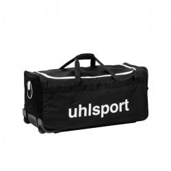 UHLSPORT - BASIC LINE 110 L SAC A ROULETTES - Sac à roulettes - Grande Contenance - noir / blanc