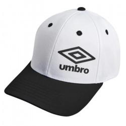 UMBRO Casquette Homme Bicolore - Blanc / Bleu