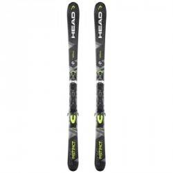 SKIS DE PISTE ALLMOUNTAIN HOMME  STRONG INSTINCT 18 JAUNE