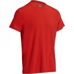 T-Shirt regular Gym & Pilates homme rouge