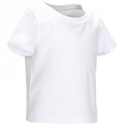 T-Shirt manches courtes Gym baby blanc