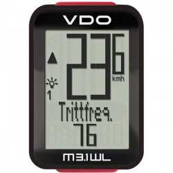 VDO M3.1 WL - Compteur sans fil - noir