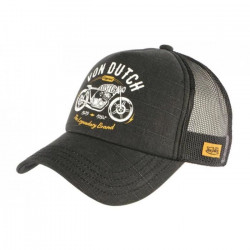 Casquette Von Dutch Grise Legendary Brand Baseball Trucker Crew - Taille unique - Gris