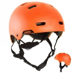 Casque roller skateboard trottinette vélo MF 540 orange