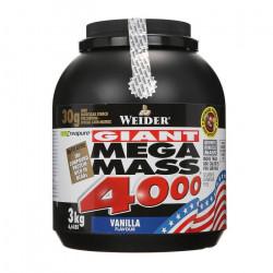 WEIDER Mega Mass 4000 Vanille 3 kg