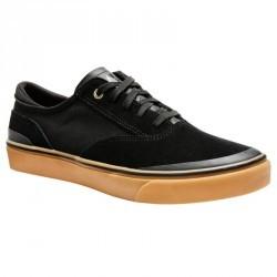 Chaussures basses de skateboard adultes VULCA 500 noire