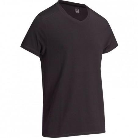 T-Shirt slim Gym & Pilates homme noir