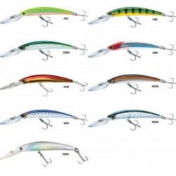 Leurre flottant yo-zuri crystal minnow dd - 11cm 11 16 3 a l'unité blue back sardine flottant hsiw