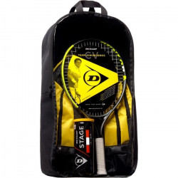 DUNLOP - Kit de tennis Junior CV Team 21 - Raquette/Sac à dos/ Balles