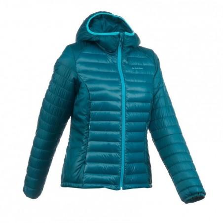 Doudoune trekking X-Light 1 femme turquoise
