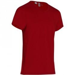 T-Shirt slim Gym & Pilates homme rouge foncé