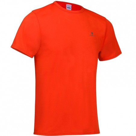 T-shirt fitness cardio homme rouge Energy