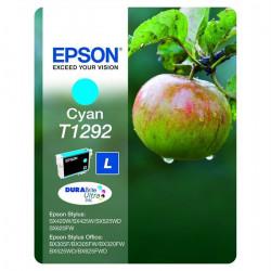 Epson T1292 Pomme Cartouche d'encre Cyan