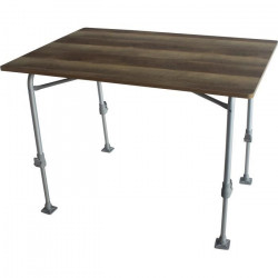Table de camping - MIDLAND - Nid d'abeille