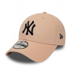 Casquette 9forty Essential New York Yankees unitaille Rose