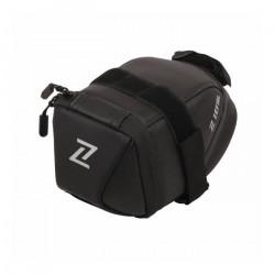 Sacoche de selle velo zefal iron pack m 0.9l noir fixation double sangles