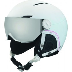 CASQUE   BOLLE JULIET VISOR SOFT WHITE NORDIC