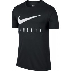 1001N-TEXT PERF TSHIRT MC H  homme NIKE M NK DRY TEE DB ATHLETE