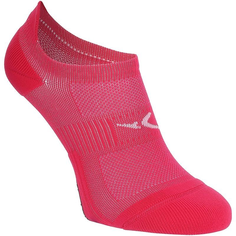 Chaussettes invisibles fitness x2 rose 500
